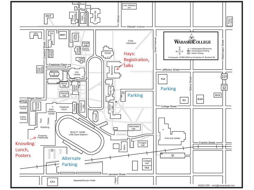Wabash College Campus Map.2014 Mglurs